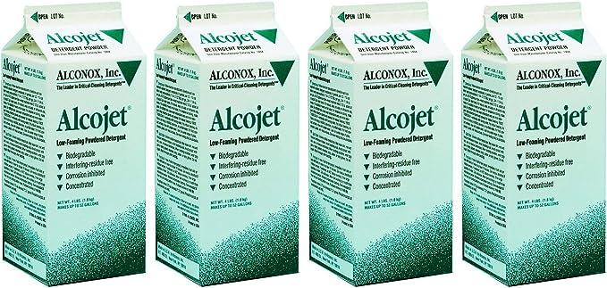 Alconox 1404 Alcojet Detergente en polvo de espuma baja Alcojet ...