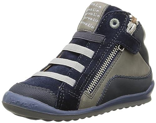 Garvalin 151454 - Botines para niños, Color Azul, Talla 24: Amazon.es: Zapatos y complementos