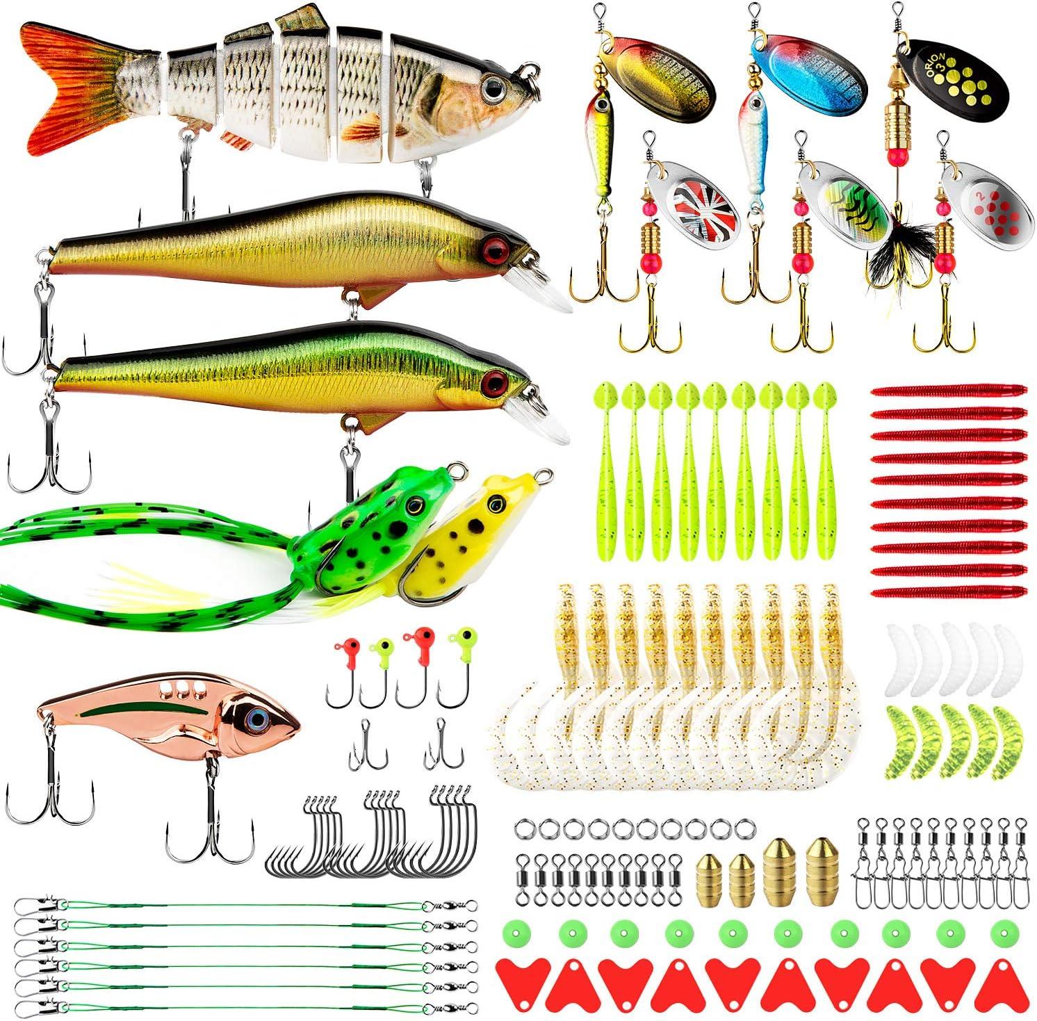 Multi Jointed Fishing Lures Sinking Wobbler Swimbait Bait Hard Y8X9