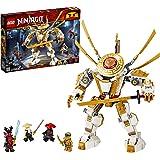 LEGO NINJAGO Legacy Golden Mech 71702, Cool Toys for Kids Building Kit