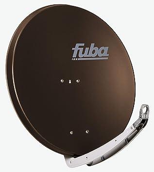 Fuba Daa 850 B Braun Aluminium Satellitenschüssel 85 Cm Elektronik