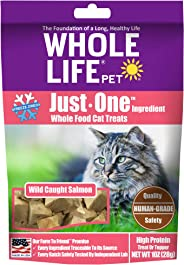Whole Life Pet Pure Salmon Freeze-Dried Cat Treats