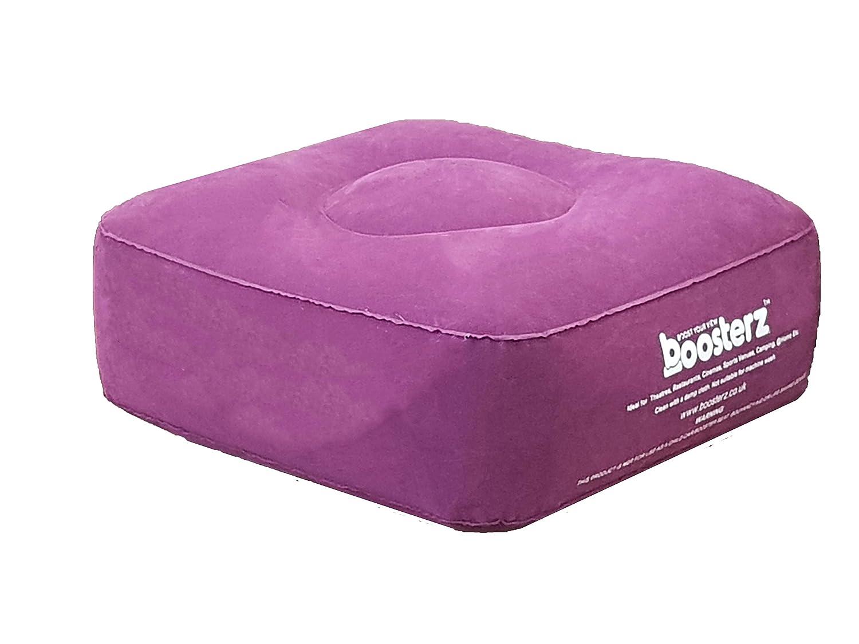 Boosterz - Cojín hinchable, color burdeos: Amazon.es: Hogar