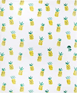 Pineapple Throw Blanket, Trendy Super-Soft Extra-Large Cool Pineapple Blanket for Adults, Teens, Kids, Boys and Girls, Fleece Cute Pineapple Blanket (50in x 60in) Warm and Cozy Throw for Bed or Couch