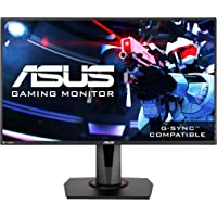 "ASUS VG278Q Monitor 27"", Full HD, 1080p, 144Hz, 1ms, DisplayPort, HDMI, DVI, Eye Care"