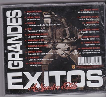 Los Rojos - Grandes Exitos a Nuestro Estilo: Varios Artistas - Amazon.com Music
