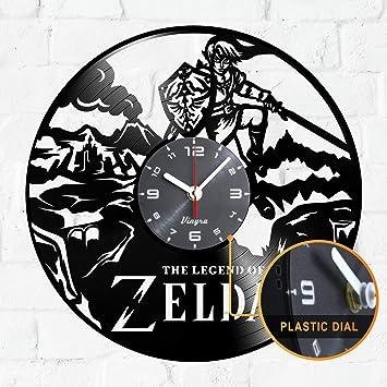 Reloj de la Leyenda de Zelda - Idea de Regalo de la Leyenda ...