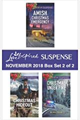 Harlequin Love Inspired Suspense November 2018 - Box Set 2 of 2: Amish Christmas Emergency\Christmas Hideout\Christmas Under Fire Kindle Edition