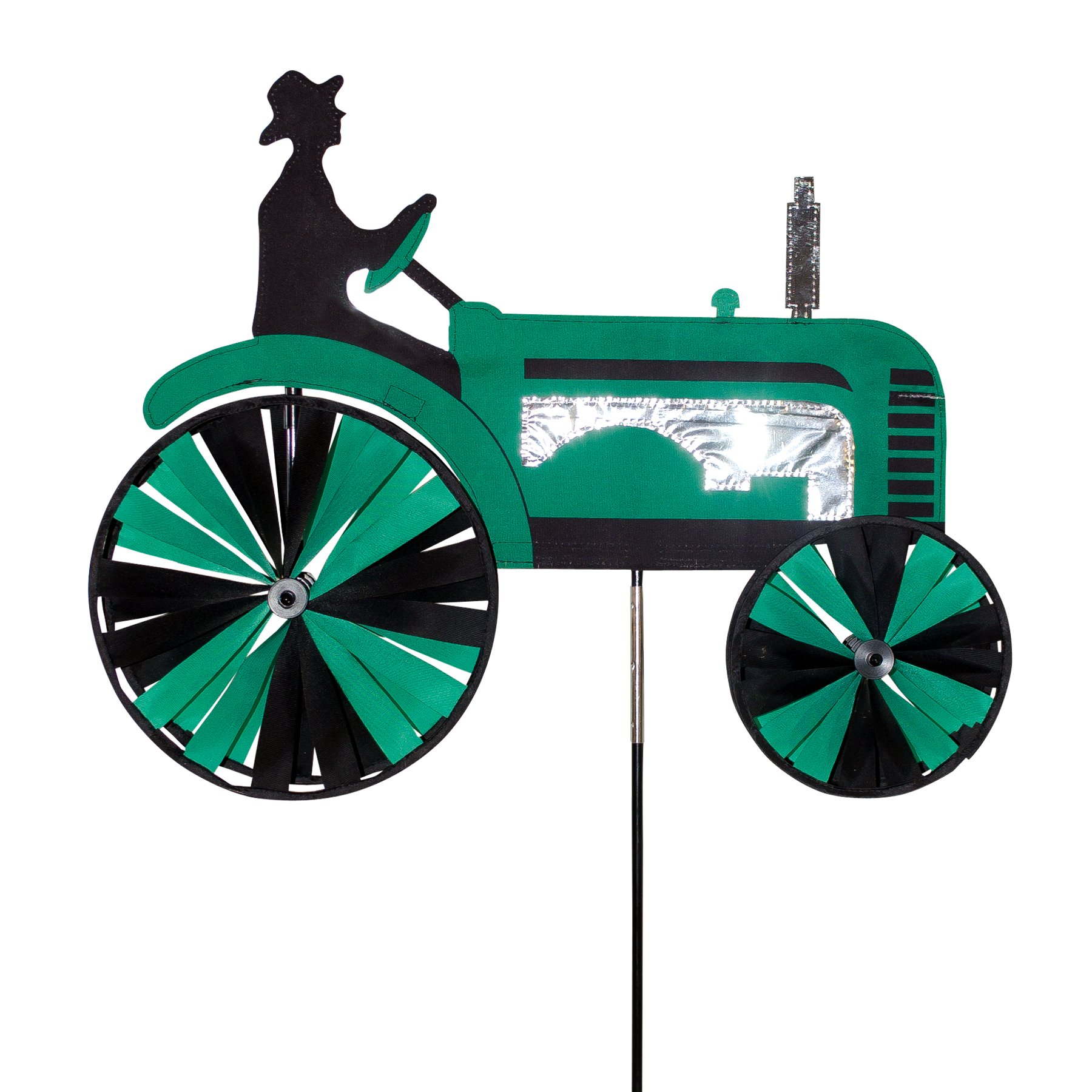 In the Breeze 24 inch Green Tractor Spinner
