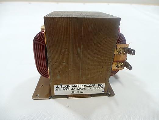 Panasonic ane620ax0ap microondas transformador: Amazon.es ...