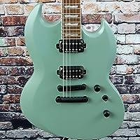ESP LTD Viper 401 Electric Guitar In Sage Green Satin