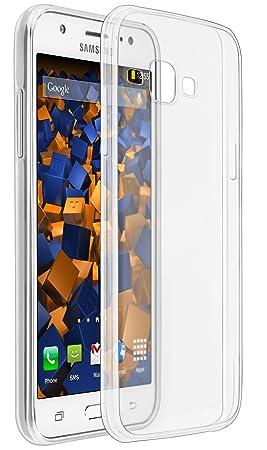 mumbi 12739 - Funda para móvil Samsung Galaxy J5, Transparente ...