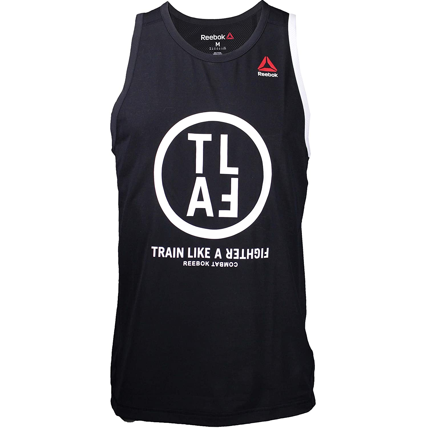 Amazon.com: Reebok Train Like A Fighter Tank Top - Black - 2X-Large: Sports  & Outdoors