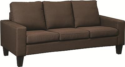 Coaster Home Furnishings Bachman Sofa with Track Arms Chocolate