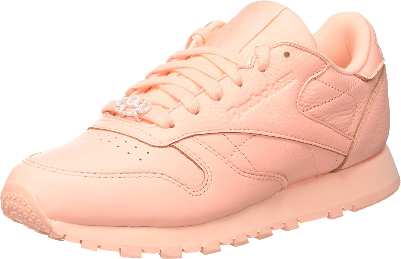 halva priset detaljerade bilder 100% hög kvalitet Reebok Classic Leather L, Women's Low-Top, Gymnastics Shoes ...