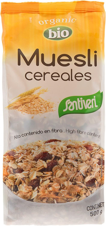 SANTIVERI Muesli Cereales Bio -N- 200 g: Amazon.es ...