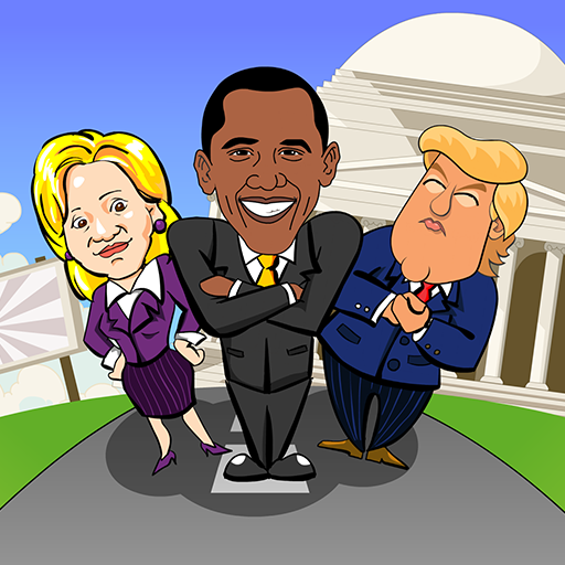 President Throw 2016 - Donald Trump, Hillary Clinton, President Obama ()
