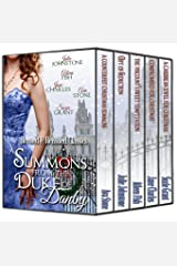 A Summons from the Duke of Danby (Regency Christmas Summons Book 2) Kindle Edition