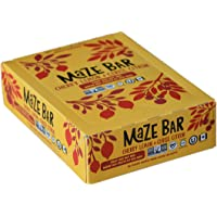 Cherry Lemon Fruit nut Energy Bars by Maze Bar. Delicious, Wholesome and Canadian. Certified Non-GMO, Vegan, Gluten Free and Kosher (45g Bars, case of 12)
