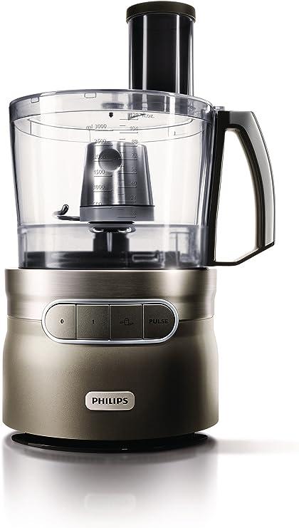 Philips Robust Collection HR7781/00 1200W Aluminio, Gris - Robot de cocina (Aluminio, Gris, 1,5 m, 1200 W, 220-240 V, 50/60 Hz, 8,6 kg): Amazon.es: Hogar