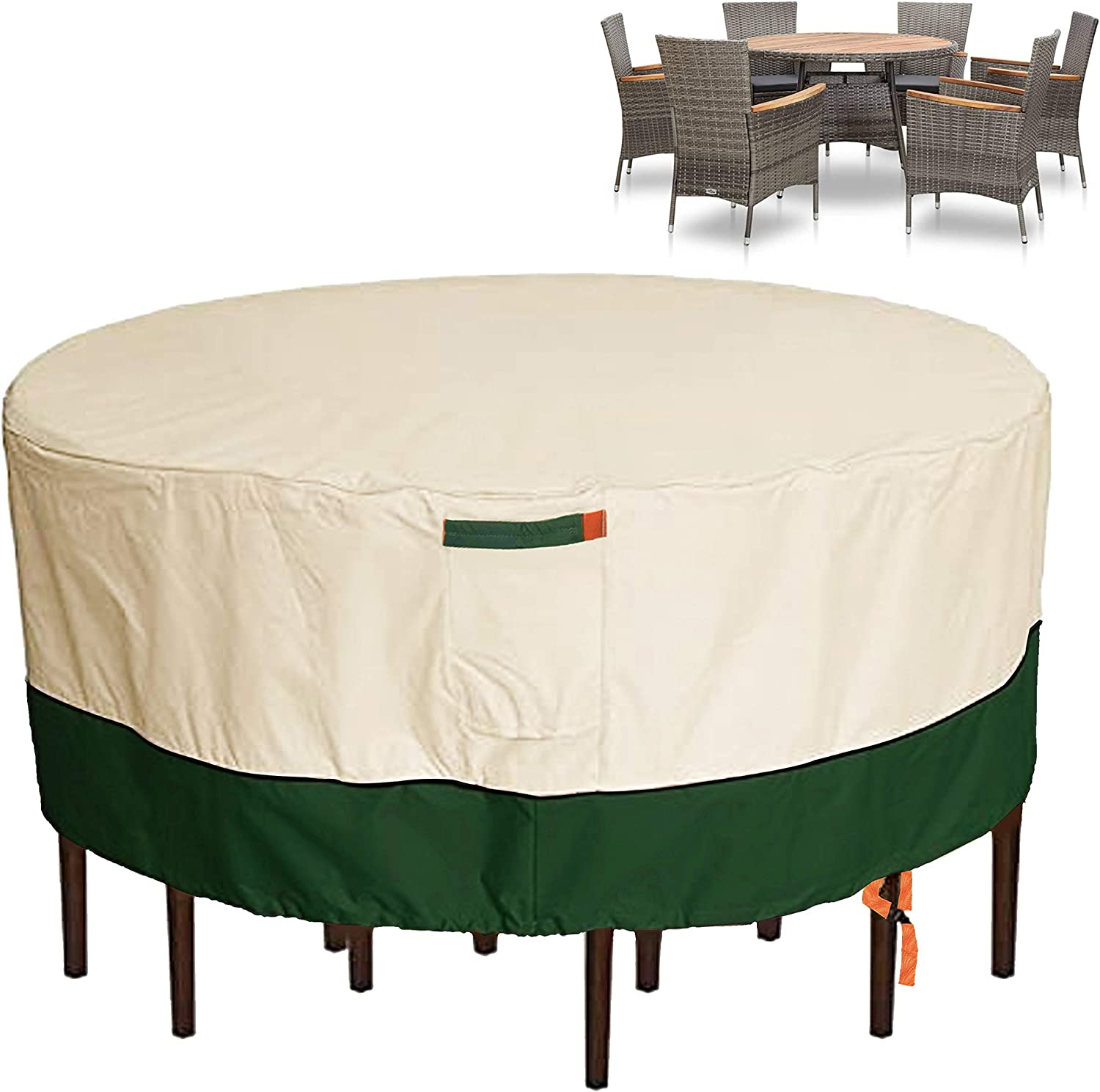 Cheap mail order shopping Umbrauto Outdoor Chicago Mall Table Round Covers Patio Furniture C Waterproof