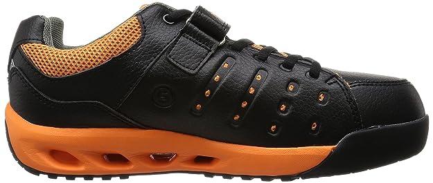 Mandom Punta de Acero, Zapatillas de Seguridad Japonés, Color Negro, Talla 41 1/3 EU