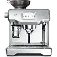 The Breville Oracle Touch Fully Automatic Espresso Machine, Brushed Stainless Steel, BES990BSS