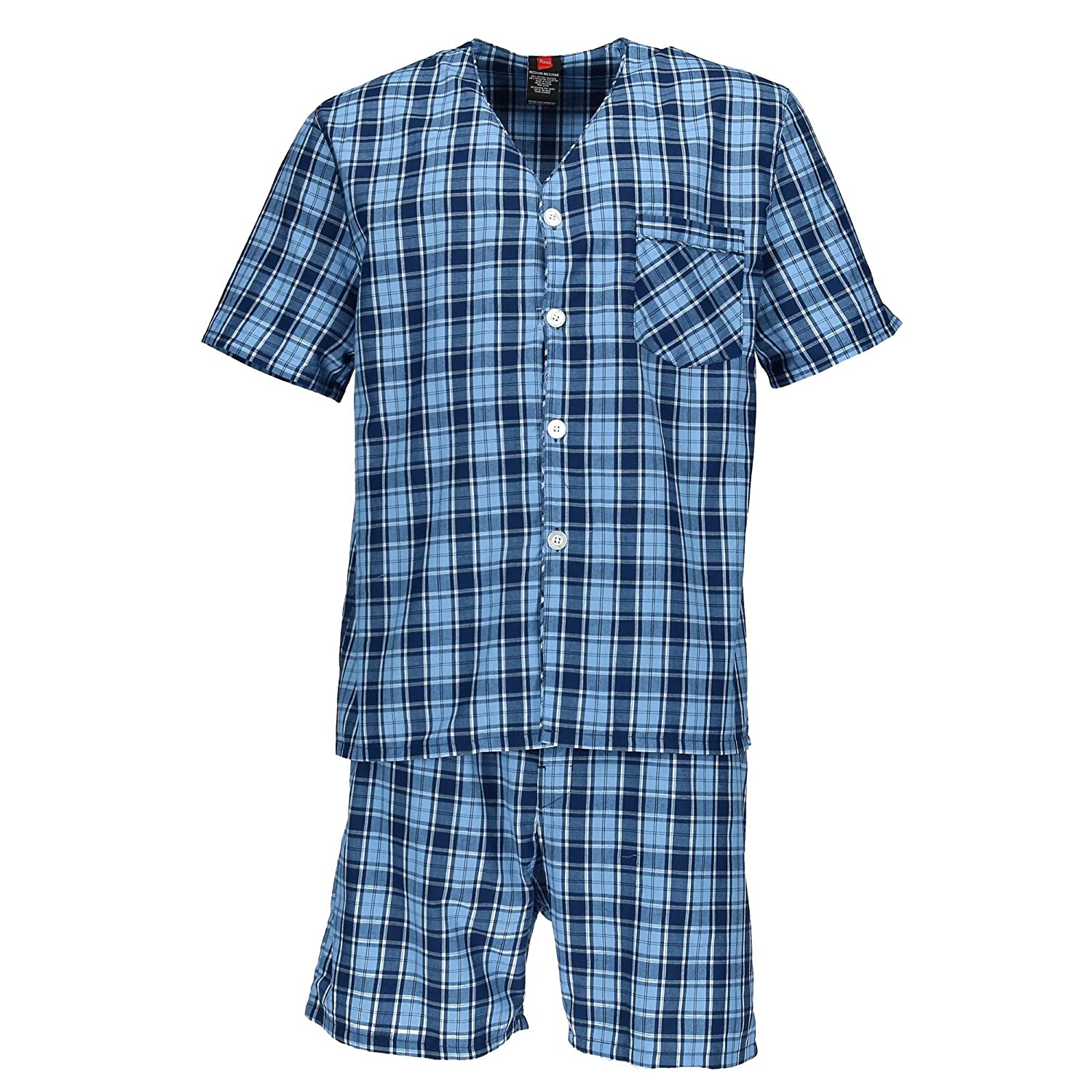 Hanes Men's Short Sleeve Short Leg Pajama Set by Hanes