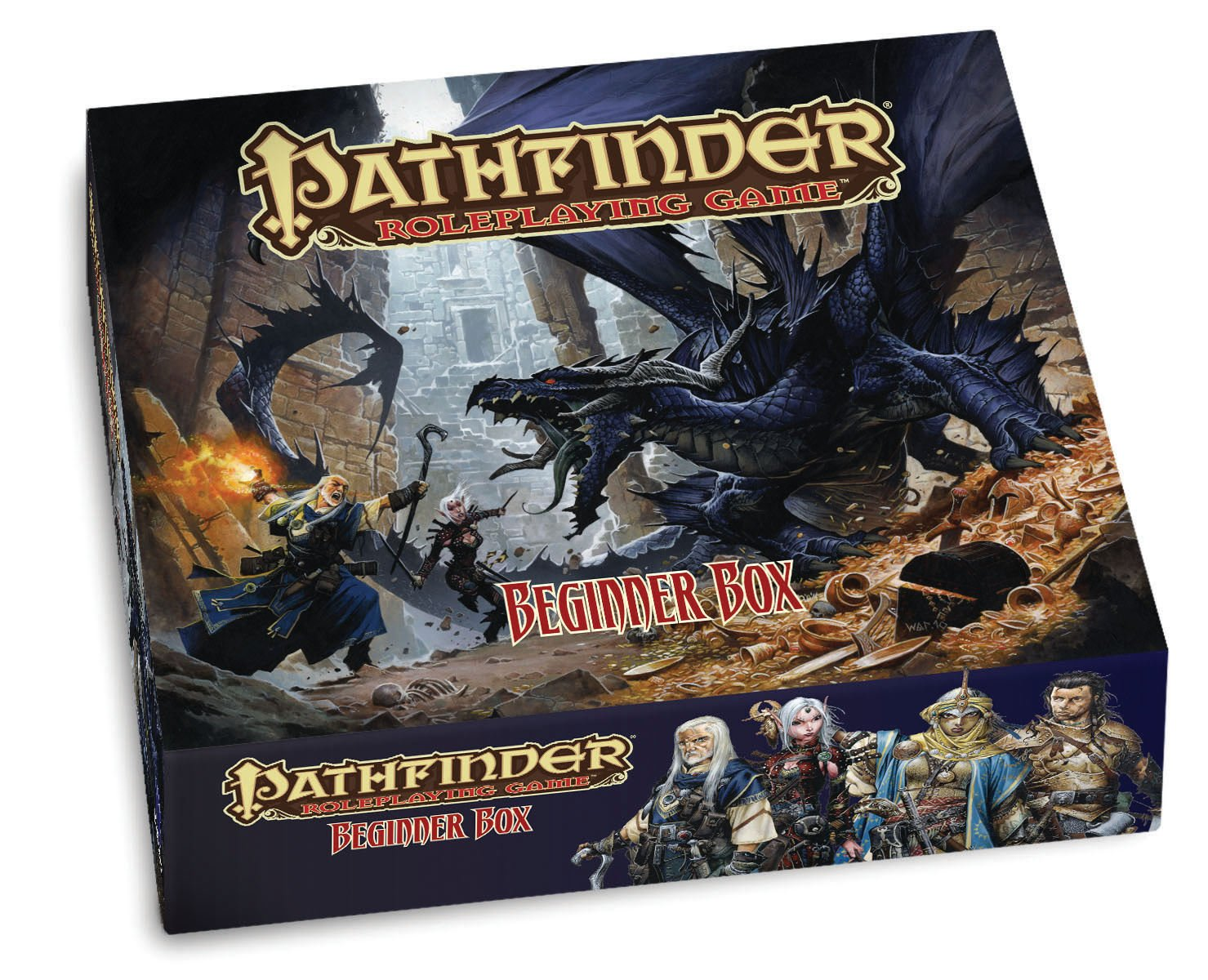 Amazon Com Paizo Publishing Pathfinder Rpg Beginner Box Paizo