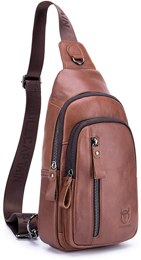 d2609238b2 Amazon.com   Niobon Men s Sling Bag