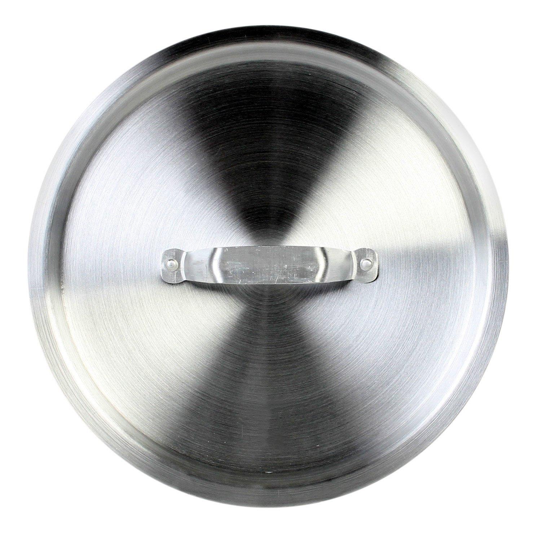 Excellante 5-Quart Saute Pan Cover Thunder Group ALSAP103