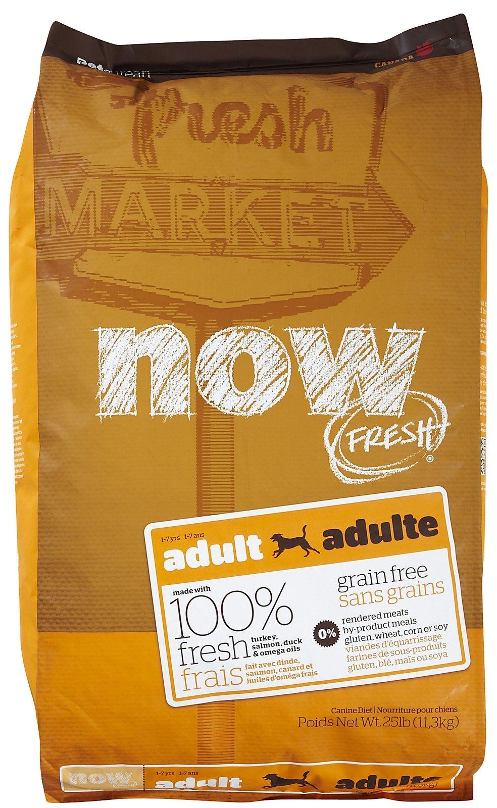 Now Fresh Grain Free Adult Dog Recipe - 25 lb by Now Fresh