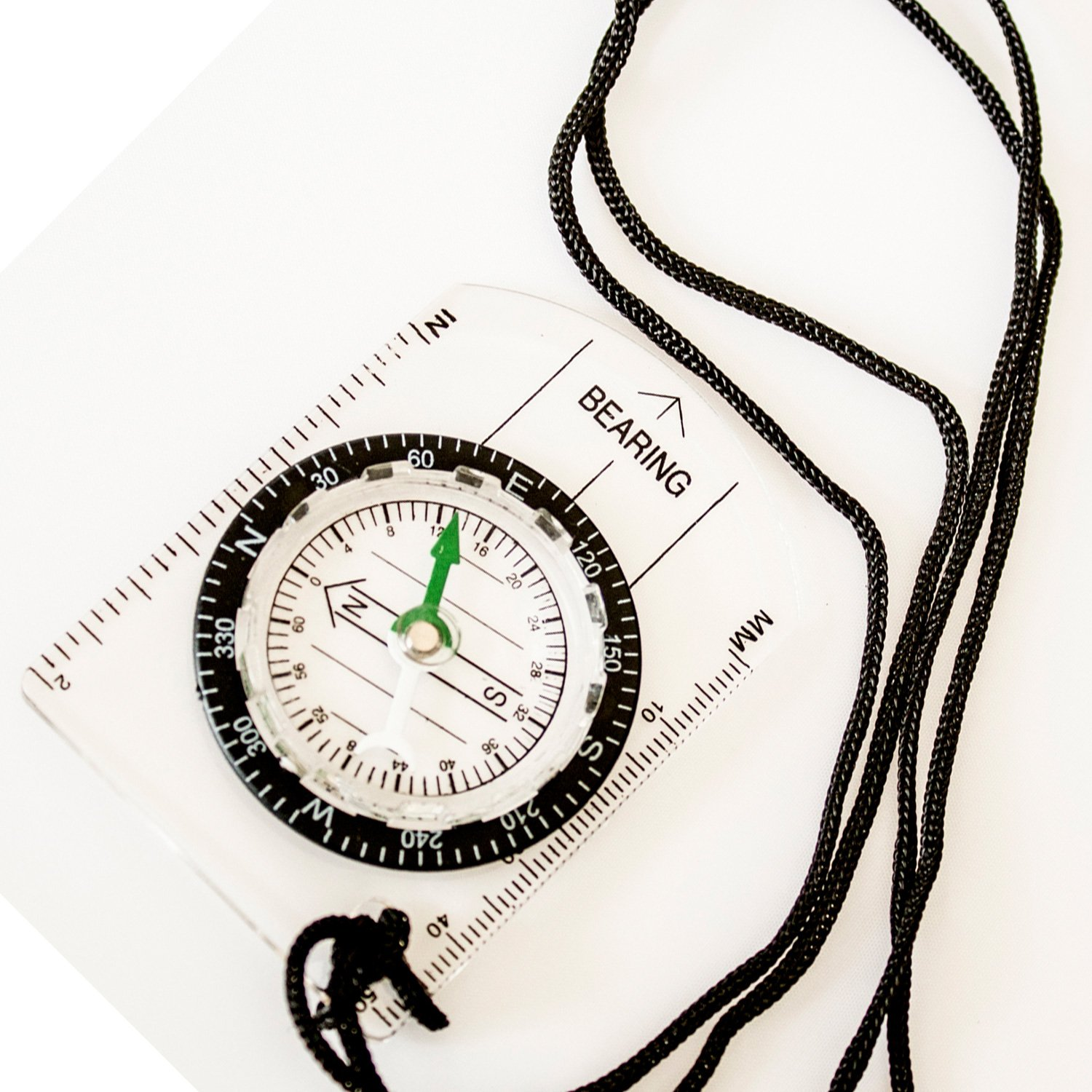 Under Control Tactical Best Sighting Compass for Camping & Outdoors - Perfect for Scouts, Kids, Just Making Learning Maps Fun!