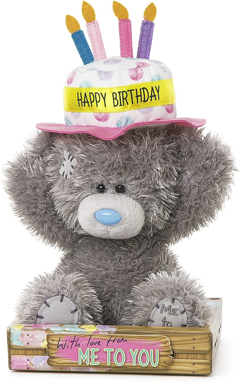 Me to You Happy Birthday Tatty Teddy with Candle Hat
