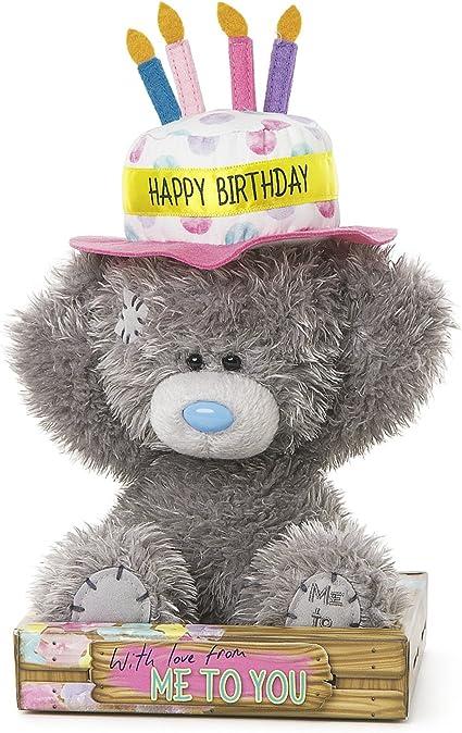 Awe Inspiring Amazon Com Me To You Tatty Teddy In Happy Birthday Cake Hat Toys Funny Birthday Cards Online Drosicarndamsfinfo