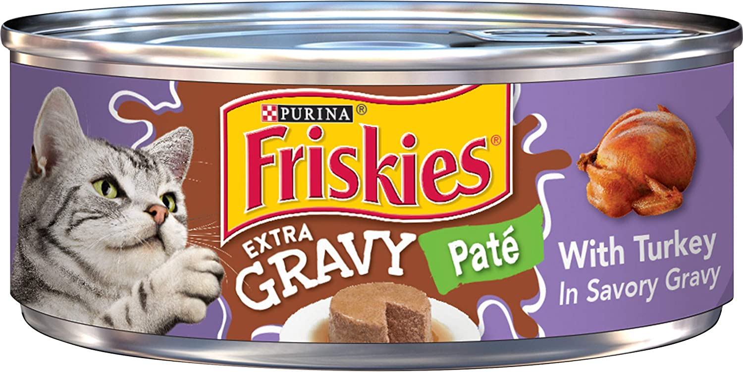 Purina Friskies Extra Gravy Canned Wet Cat Food - (24) 5.5 oz. Cans