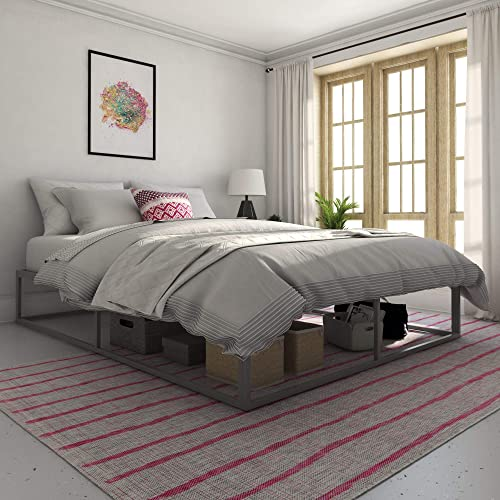 Novogratz Metal Platform Bed