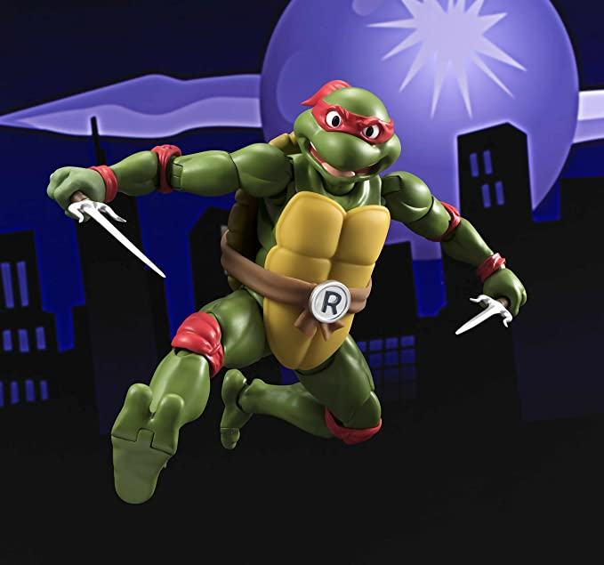 Amazon.com: Bandai Tamashii Nations S.H. Figuarts Raphael ...