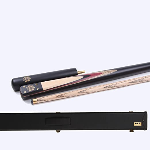 BCE Heritage Sapele Acajou Queue de Billard 145 cm Embout 9.5mm 3 Pi/èces avec 15cm Extension et 3//4 /Étui Rigide