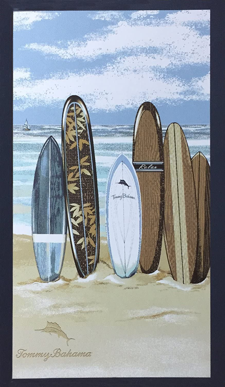 "Tommy Bahama Surf Board Beach Towel - 40"" X 70"""