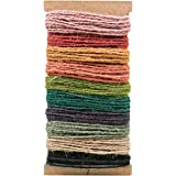 Jute String by Tim Holtz Idea-ology, 10 Colors, 3 Yards Each Color, 30 Yards Total, TH93139