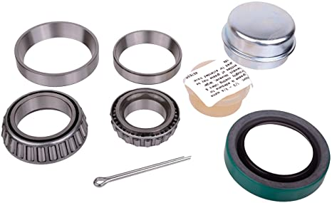 Amazon com: SKF 27 Recreational Trailer Seal and Bearing Kit (42380