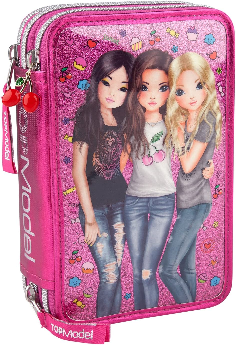 Depesche 8722 Top Model Friends - Estuche, 3 compatimentos, Relleno, Surtido: Amazon.es: Juguetes y juegos