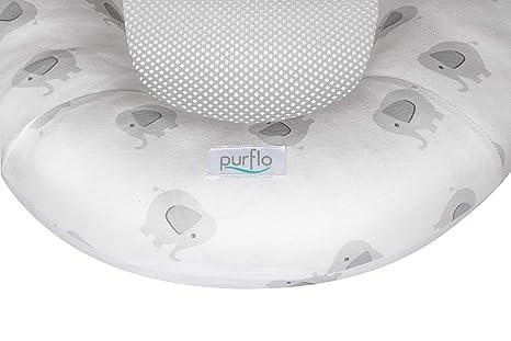 unisex Nido transpirable color elephant Purflo Baby Nest