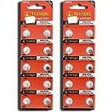 AG0 379A LR63 SR63 LR521 Button Cell Batteries [20-Pack]
