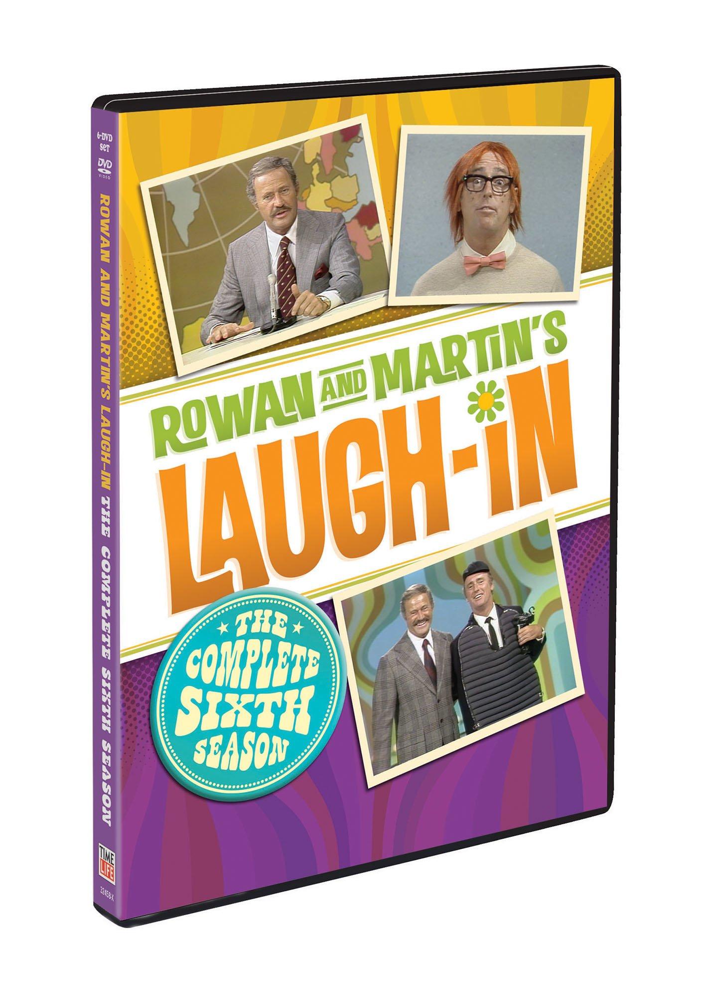 DVD : Rowan & Martin's Laugh-in: The Complete Sixth Season (6PC)
