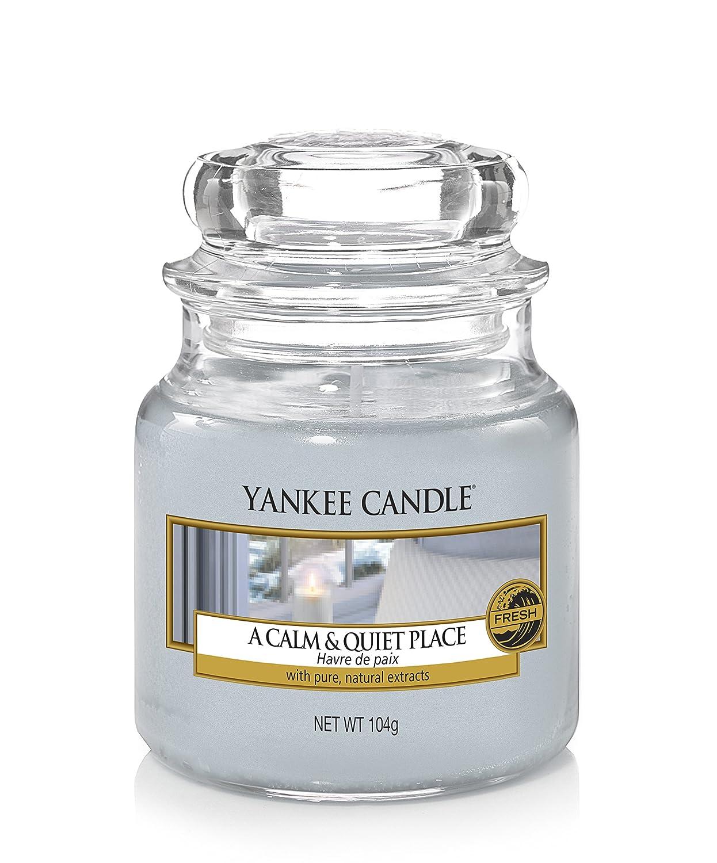Yankee Candle Candela Piccolo Vaso, Un Posto Calmo e Tranquillo 1577137E