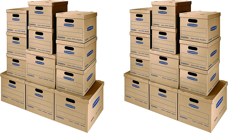 Bankers Box SmoothMove Classic - Cajas para kit de mudanza ...