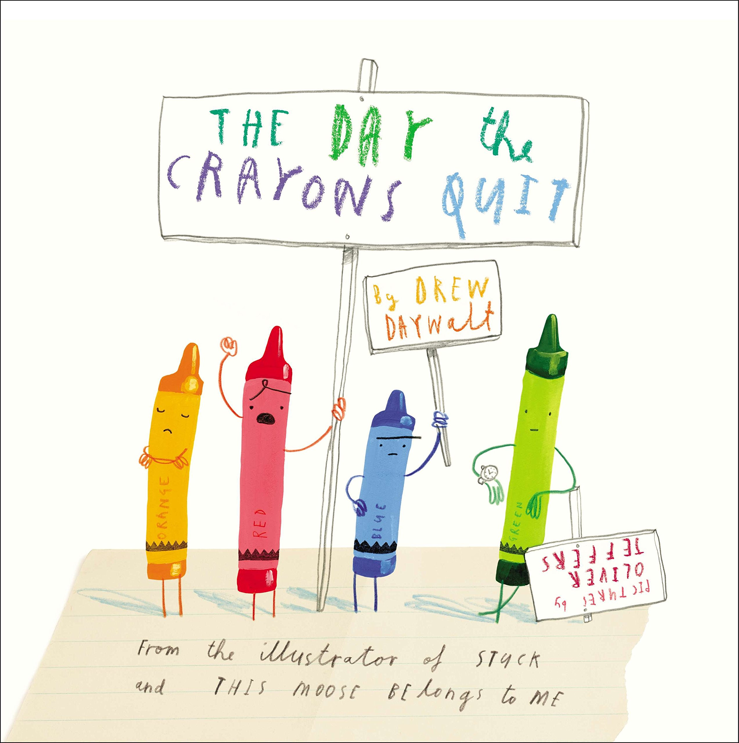 The Day the Crayons Quit: Amazon.de: Drew Daywalt, Oliver Jeffers ...