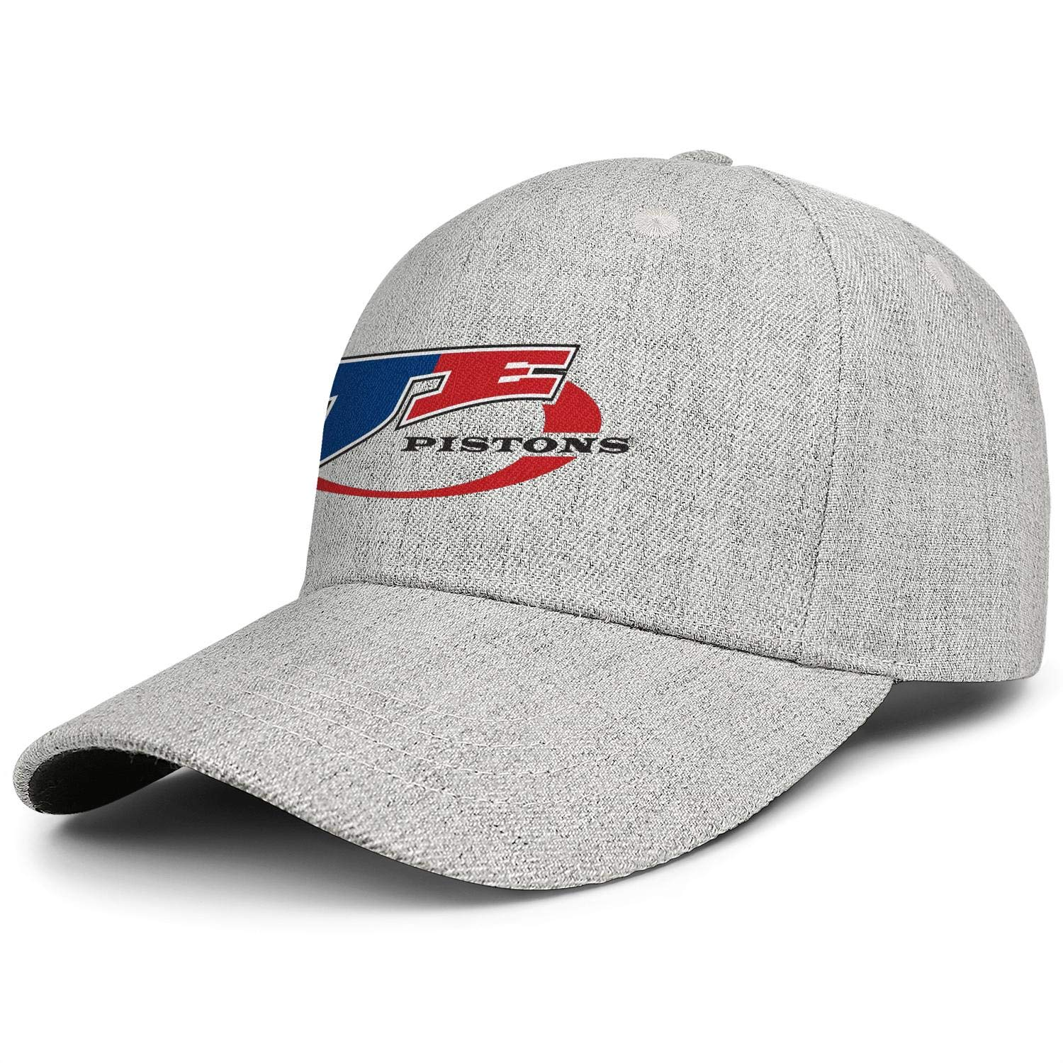 Adjustable Wool Blend Baseball Caps Mens Womens Relaxed Visor Hats JE-Pistons-Competitors